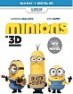 Minions (2015) 3D (Blu-ray 3D + Blu-ray + UV Copy) (UK Import ohne dt. Ton) Blu-ray