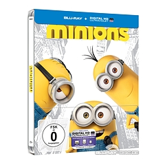 Minions (2015) (Limited Steelbook Edition) (Blu-ray + UV Copy) (Cover A) Blu-ray