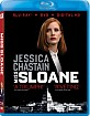 Miss Sloane (2016) (US Import ohne dt. Ton) Blu-ray