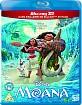 Moana (2016) 3D (Blu-ray 3D + Blu-ray) (UK Import ohne dt. Ton) Blu-ray
