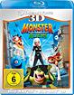 Monster und Aliens 3D (Blu-ray 3D + Blu-ray) Blu-ray