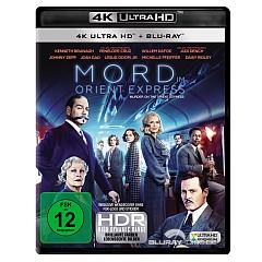 Mord im Orient Express (2017) 4K (4K UHD + Blu-ray) Blu-ray