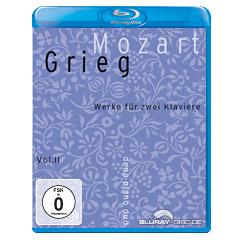 Mozart/Grieg - Vol. II: Werke für zwei Klaviere (Audio Blu-ray) Blu-ray