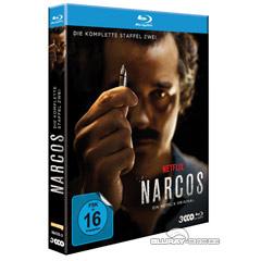 Narcos: Die komplette zweite Staffel Blu-ray