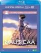 Nausicaä del valle del viento (Blu-ray + DVD) (ES Import ohne dt Blu-ray