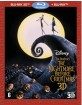 The Nightmare Before Christmas 3D (Blu-ray 3D + Blu-ray) (NL Import) Blu-ray