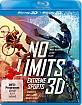 No Limits - Extreme Sports 3D (3-Disc Set) (Blu-ray 3D) Blu-ray