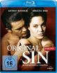 Original Sin Blu-ray