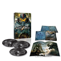 Pacific Rim - Limited Edition Steelbook (JP Import) Blu-ray