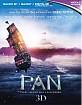Pan (2015) 3D (Blu-ray 3D + Blu-ray + UV Copy) (UK Import ohne dt. Ton) Blu-ray