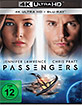 Passengers (2016) 4K (4K UHD + Blu-ray + UV Copy) Blu-ray