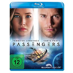 Passengers (2016) (Blu-ray + UV Copy) Blu-ray