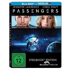 Passengers (2016) (Limited Steelbook Edition) (Blu-ray + UV Copy) Blu-ray