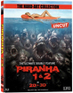 Piranha 1 & 2 3D - Limited Edition im Media Book (The Hard-Art Collection) (Cover A) (Blu-ray 3D) Blu-ray