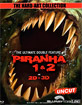 Piranha 1 & 2 3D - Limited Edition im Media Book (The Hard-Art Collection) (Cover D) (Blu-ray 3D) Blu-ray