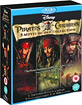 Pirates of the Caribbean - Trilogy (6-Disc Edition) (UK Import) Blu-ray
