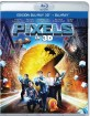 Pixels (2015) 3D (Blu-ray 3D + Blu-ray) (ES Import ohne dt. Ton) Blu-ray