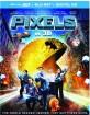 Pixels (2015) 3D (Blu-ray 3D + Blu-ray + Digital Copy)) (US Import ohne dt. Ton) Blu-ray