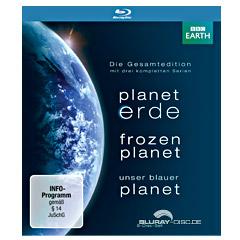 Planet Erde + Frozen Planet + Unser Blauer Planet (Die Gesamtedition) Blu-ray