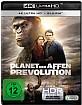Planet der Affen: Prevolution 4K (4K UHD + Blu-ray) Blu-ray
