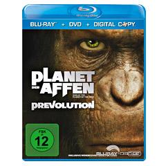 Planet der Affen: Prevolution (Blu-ray + DVD + Digital Copy Edition) Blu-ray