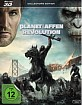 Planet der Affen: Revolution (2014) 3D - Collector's Edition (Blu-ray 3D + Blu-ray) (CH Import) Blu-ray