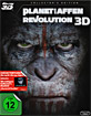 Planet der Affen: Revolution (2014) 3D - Collector's Edition (Blu-ray 3D + Blu-ray + UV Copy) Blu-ray