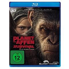 Planet der Affen: Survival 3D (Blu-ray 3D + Blu-ray) Blu-ray