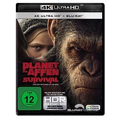 Planet der Affen: Survival 4K (4K UHD + Blu-ray) Blu-ray