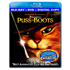 Puss in Boots (Blu-ray + DVD + Digital Copy) (CA Import ohne dt. Ton) Blu-ray