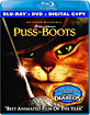 Puss in Boots (Blu-ray + DVD + D ... Blu-ray