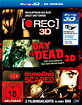 [Rec] 3D + Day of the Dead (2008) 3D + Running Scared (2006) 3D (3-Film-Set) (Blu-ray 3D) Blu-ray
