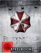 Resident Evil (1-4) - Steelbook Blu-ray