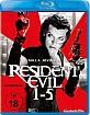 Resident Evil 1-5 Blu-ray