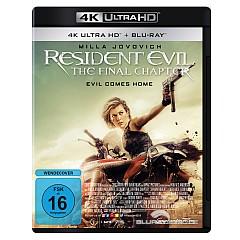 Resident Evil: The Final Chapter 4K (4K UHD + Blu-ray) Blu-ray