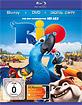 Rio (2011) (BD + DVD + Digital Copy) Blu-ray