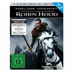 Robin Hood (2010) - Director's Cut (Limited Steelbook Edition) Blu-ray