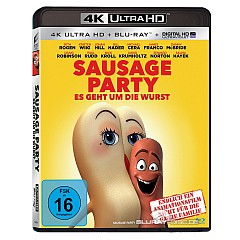 Sausage Party - Es geht um die Wurst 4K (4K UHD + Blu-ray + UV Copy) Blu-ray
