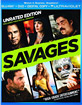 Savages -Theatrical and Unrated Edition (Blu-ray + DVD + Digital Copy + UV Copy) (2012) (US Import ohne dt. Ton) Blu-ray