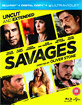 Savages (Blu-ray + UV Copy) (UK Import ohne dt. Ton) Blu-ray