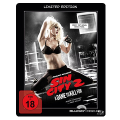 Sin City 2: A Dame to Kill For - Limited Lenticular Steelbook Edition Blu-ray