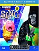 Sing (2016) 3D - Amazon Exclusive Steelbook (Blu-ray 3D + Blu-ray + UV Copy) (UK Import ohne dt. Ton) Blu-ray