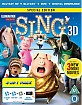 Sing (2016) 3D (Blu-ray 3D + Blu-ray + UV Copy) (UK Import ohne dt. Ton) Blu-ray