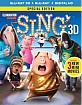 Sing (2016) 3D (Blu-ray 3D + Blu-ray + UV Copy) (US Import ohne dt. Ton) Blu-ray