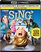 Sing (2016) 4K (4K UHD + Blu-ray + UV Copy) (US Import ohne dt. Ton) Blu-ray