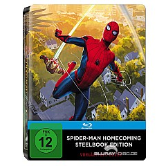 Spider-Man: Homecoming (Limited Edition Gallery 1988 Steelbook) Blu-ray