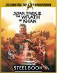 Star Trek II: La colère de Khan - Limited Edition 50th Anniversary Steelbook (FR Import) Blu-ray