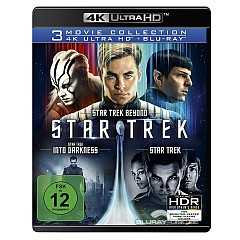 Star Trek (3 Movie Collection) 4K (4K UHD + Blu-ray) Blu-ray