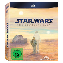 Star Wars - The Complete Saga I - VI (Limited Edition) Blu-ray