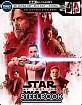 Star Wars: The Last Jedi 4K - Best Buy Exclusive Steelbook (4K UHD + Blu-ray + Bonus Blu-ray + UV Copy) (US Import ohne dt. Ton) Blu-ray